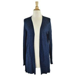Ann Taylor Factory Cardigans SM Blue
